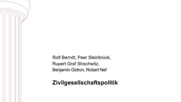 Zivilgesellschaftspolitik