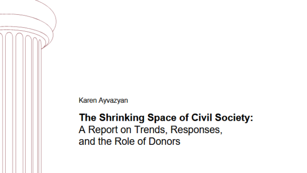 The Shrinking Space of Civil Society: a Report on Trends, Responses, and the Role of Donors