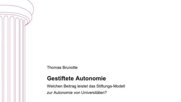 Gestiftete Autonomie