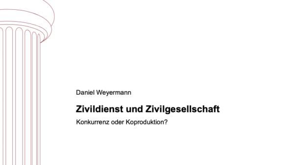 Zivildienst und Zivilgesellschaft