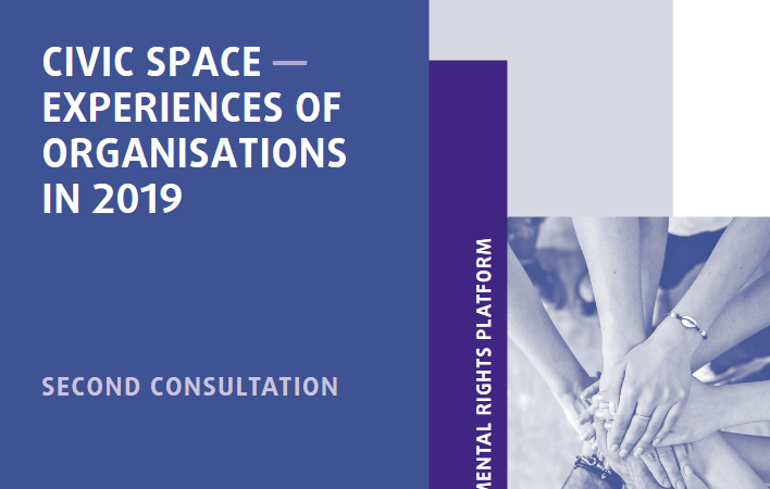 CIVIC SPACE ―EXPERIENCES OF ORGANISATIONS IN 2019