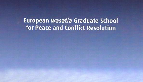 Trilaterale Wasatia-Graduiertenschule in Flensburg für Frieden im Nahen Osten