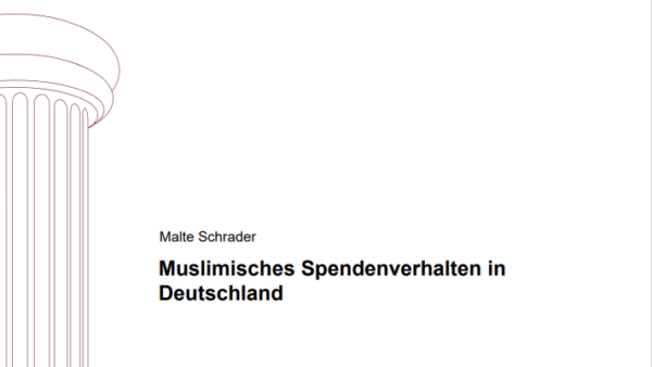 Muslimisches Spendenverhalten in Deutschland