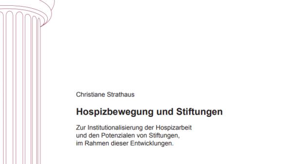 Hospizbewegung und Stiftungen