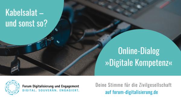 """Im Rahmen des Projektes """"Forum Digitalisierung und Engagement"""" bietet das BBE eine Beteiligungsplattform für gegenseitigen Austausch an!"""