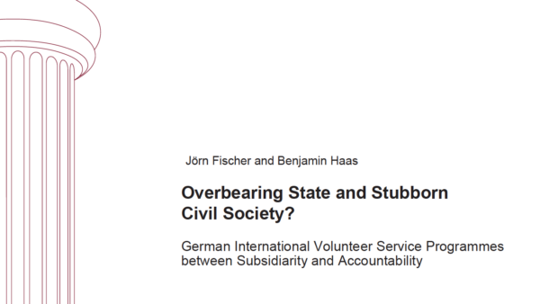 Overbearing State and Stubborn Civil Society?