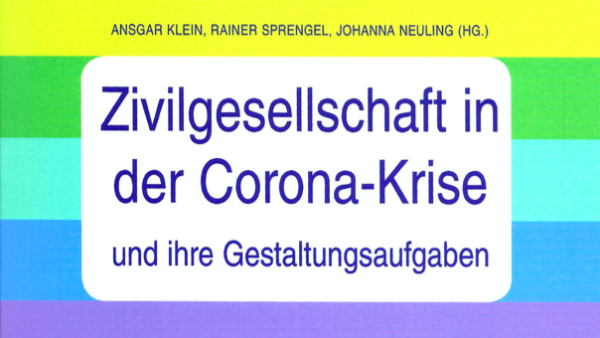 Neuerscheinung: Jahrbuch Engagementpolitik 2021 mit Beitrag von Rolf Alter, Malte Schrader und Rupert Graf Strachwitz