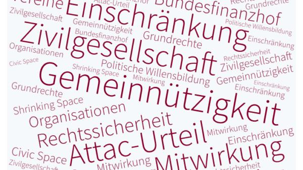 Neue Attac-Entscheidung des BFH: Gemeinnützigkeitsrecht darf Grundrechte nicht beschränken