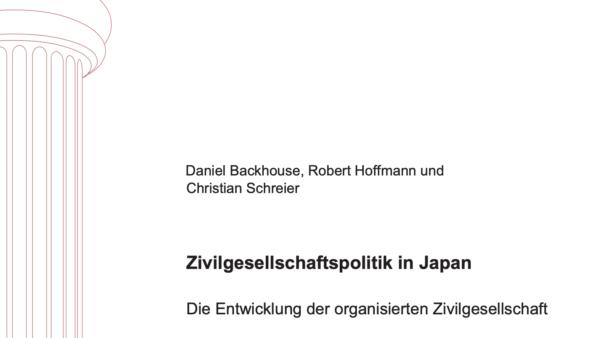 Zivilgesellschaftspolitik in Japan