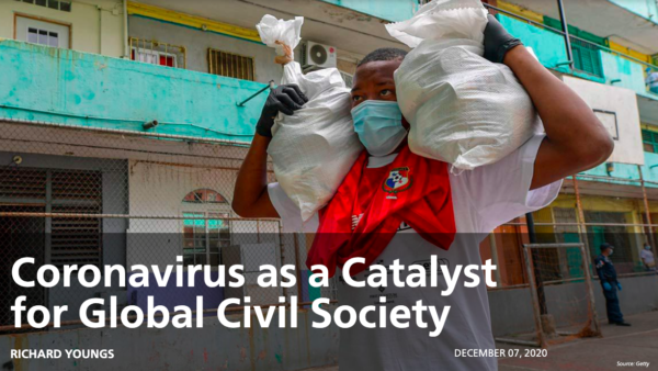 Coronavirus as a Catalyst for Global Civil Society