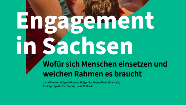 Studie: Engagement in Sachsen