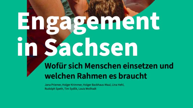Studie: Engagement in Sachsen
