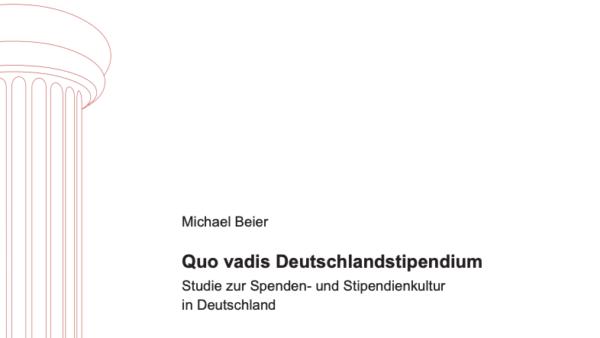 Quo vadis Deutschlandstipendium