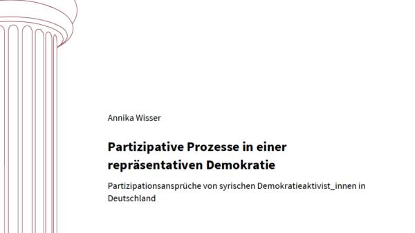 Partizipative Prozesse in einer repräsentativen Demokratie