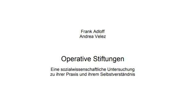 Operative Stiftungen