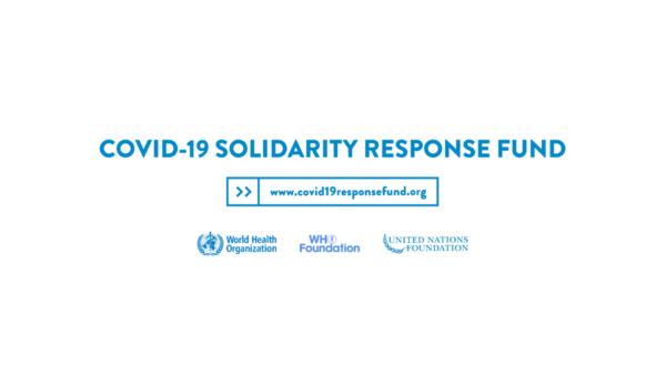 Spenden an die WHO zur Bekämpfung von COVID-19