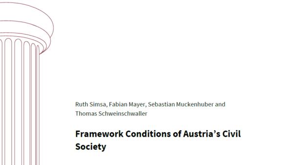 Framework Conditions of Austria's Civil Society