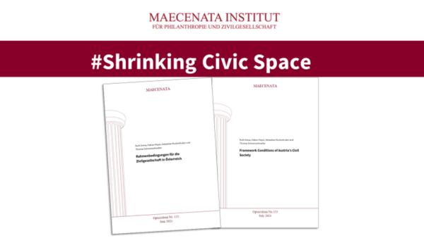 Presseinformation: Erste Ergebnisse des Forschungsprojekts zum Shrinking Civic Space