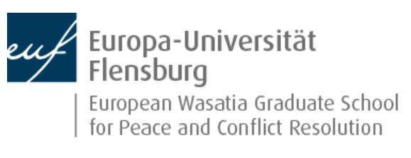 Veranstaltungstipp: Feierliche Eröffnung der European Wasatia Graduate School for Peace and Conflict Resolution